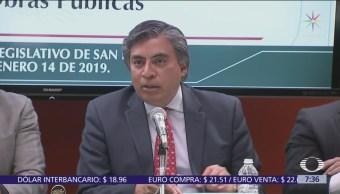 Gerardo Esquivel comparece ante Congreso de la Unión