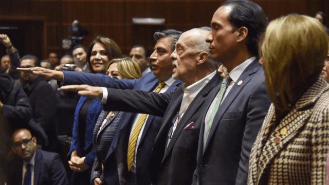 Gerardo Esquivel, Jonathan Heath, rinden protesta como subgobernadores de Banxico, 23 de enero 2019