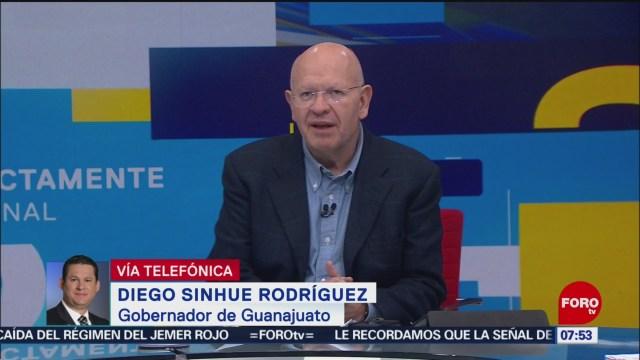 Gobernador de Guanajuato: Falta de combustible es grave en el estado