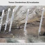 Foto: AMLO inhabilita tomas clandestinas halladas en Azcapotzalco 30 ENERO 2019