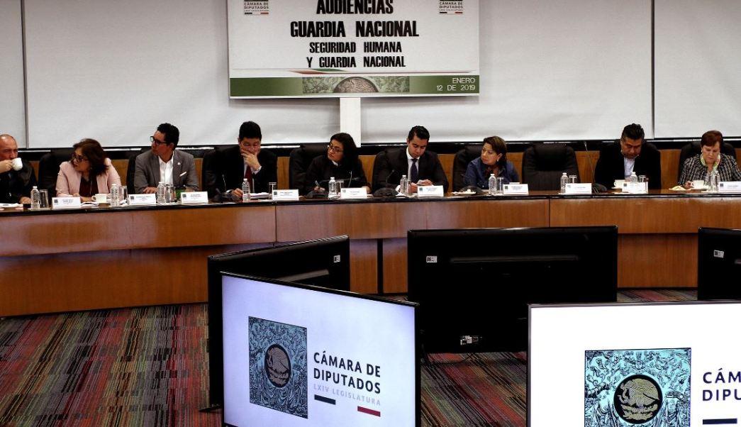 Concluyen las Audiencias Públicas sobre la Guardia Nacional en la Cámara de Diputados