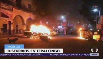 Habitantes de Tepalcingo, Morelos, intentan linchar a presuntos secuestradores
