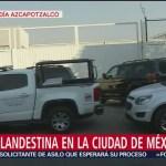 Hallan toma clandestina en bodega de Azcapotzalco, CDMX