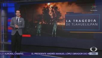 Hay 58 personas hospitalizadas tras explosión en Tlahuelilpan