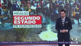 Hidalgo, segundo estado con mayor número de tomas clandestinas