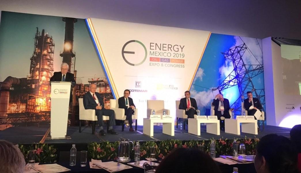 Foto: El exsecretario de Economía, Ildefonso Guajardo Villareal, participa en panel del Foro Energy México 2019, en Ciudad de México, (Twitter: @GlobalEnergyMEX)