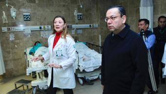 IMSS atiende a 10 heridos de la explosión en Tlahuelilpan