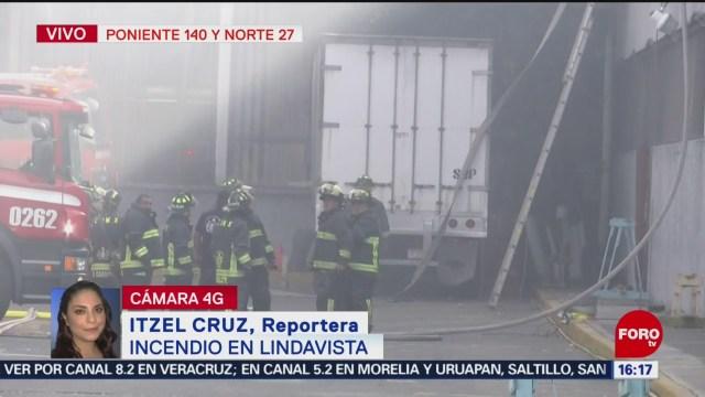 Foto: Incendio en Lindavista