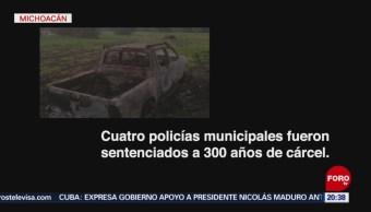 Foto: la ejecución a tiros de diez jóvenes en Indaparapeo, Michoacán, 23 de enero 2019