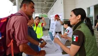Foto: INM da atención a migrantes de la nueva caravana, 20 de enero 2019