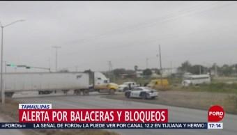 Internautas reportan balaceras en Tamaulipas por robo de pipa