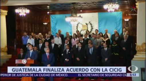 Jimmy Morales pone fin a Comisión contra la Impunidad en Guatemala
