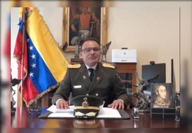 Foto: José Luis Silva, agregado militar de la embajada de Venezuela en Estados Unidos, 27 enero 2019