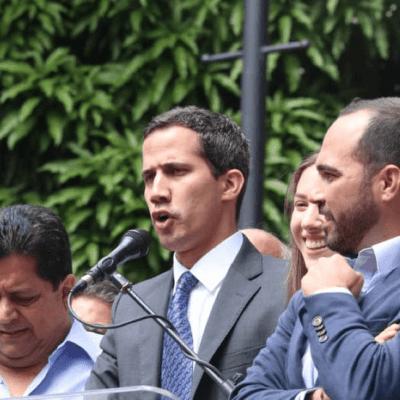 Juan Guaidó pide respaldo a militares por el bien de Venezuela