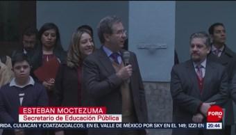 Mejoría Educación Calidad Magisterio Esteban Moctezuma