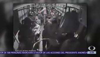 Ladrón asalta a pasajeros de camión en la México-Pachuca