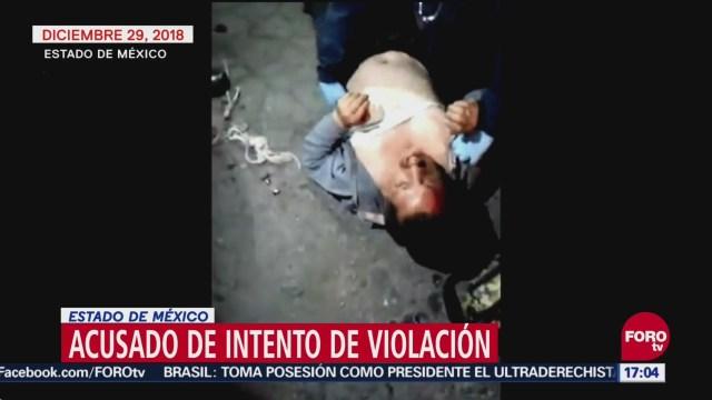Golpean a taxista que intentó violar a niña