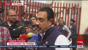 Gobernador de Hidalgo dice que se sumará a lucha contra huachicoleo
