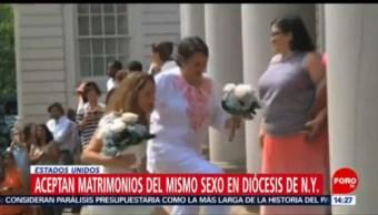 Iglesia Episcopal da luz verde a matrimonios gay