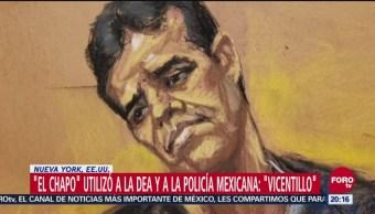 El Chapo Utilizó A La DEA Y A La Policía Mexicana: El Vicentillo, El Chapo, Utilizó A La DEA Y A La Policía Mexicana, El Vicentillo, Vicente Zambada, Joaquín El Chapo Guzmán, Combatir A Rivales