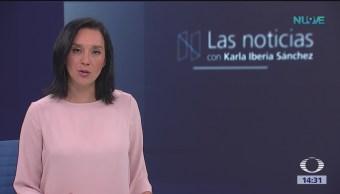 Las Noticias con Karla Iberia Programa del 8 de enero del 2019