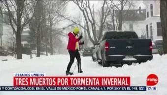 Tormenta invernal 'Harper' azota a Estados Unidos