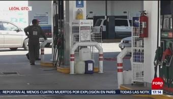 El Bajío también padece afectaciones por el desabasto de gasolina