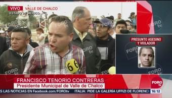 Autoridades piden mesura a los pobladores de Valle de Calco