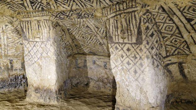 Las tumbas de Tierradentro, repletas de inscripciones y detalles enigmáticos (GettyImages)