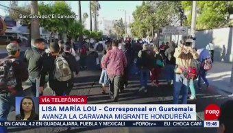 Llega Primer Grupo Migrantes Hondureños Guatemala