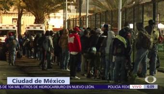 Llega tercera caravana de migrantes a la CDMX