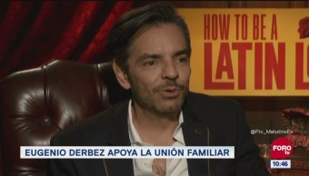 #LoEspectaculardeME: Eugenio Derbez apoya la unión familiar