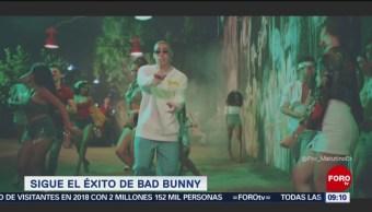 #LoEspectaculardeME: Sigue el éxito de Bad Bunny