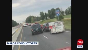 #LoQueVimosEnLaRed: Unos muy malos conductores