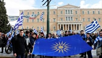 Foto: Macedonia cambia de nombre a Macedonia del Norte, 25 enero 2019