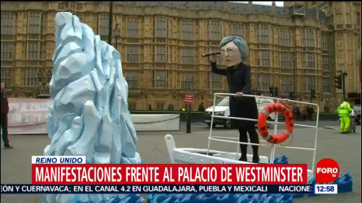 Manifestaciones contra el Brexit, en Londres