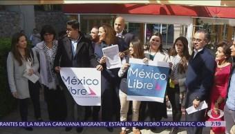 Margarita Zavala solicita registro de nuevo partido 'México Libre'