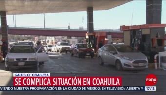 Más de 70 de 145 gasolineras, cerradas en el sur de Coahuila