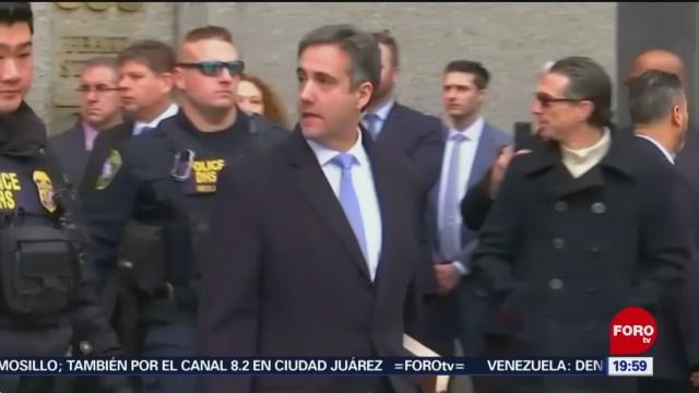 Michael Cohen Testificará Febrero Congreso EU