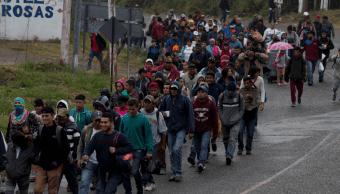Cuatro hondureños de caravana migrante han sido detenidos
