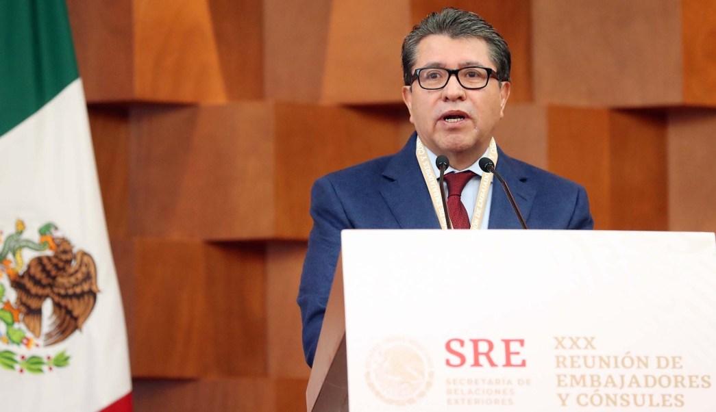 Ricardo Monreal: México pertenece al mundo