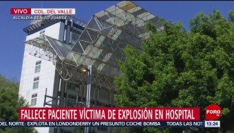 Muere paciente de Hidalgo en Hospital 20 de Noviembre