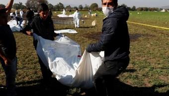 Omar Fayad: Suman 71 muertos por explosión en Tlahuelilpan