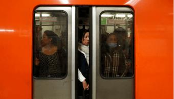Foto: Mujeres en el Metro de la CDMX, 16 de junio 2017, Ciudad de México