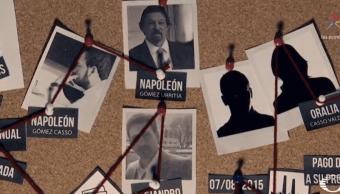 Napoleón Gómez Urrutia e hijos tienen nexos con Javier Duarte