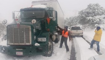 SMN: Se mantiene potencial para la caída de nieve en norte y noroeste de México
