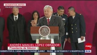 Niega AMLO que familia Jiménez Espriú esté involucrada con transportación de gasolina