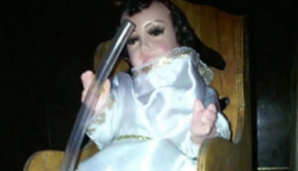'Niño Huachicolero', el santo que protege a huachicoleros