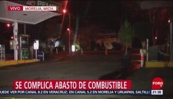 No funcionaron 250 gasolineras en Michoacán este domingo
