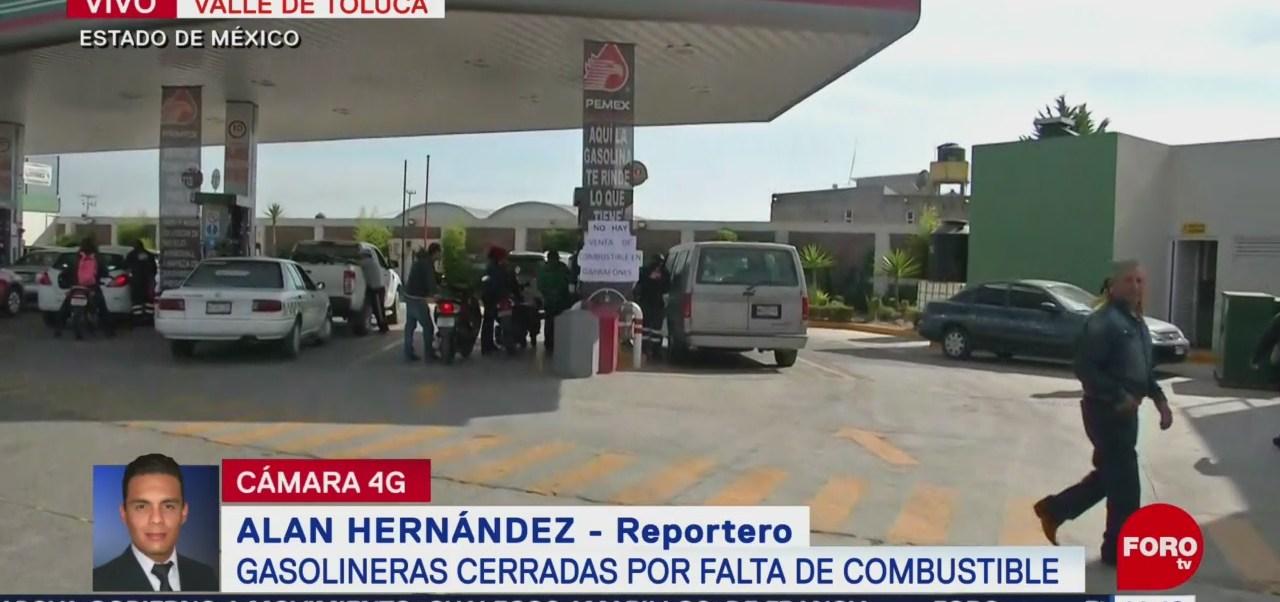 Sigue el desabasto de gasolina en el Estado de México